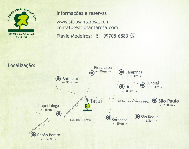 imagem do mapa do Sitio Santa Rosa